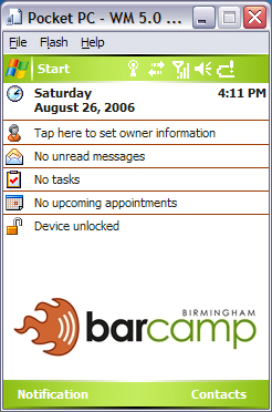 get your barcamp on...in your pocket!