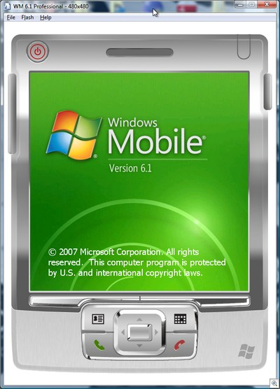 Windows Mobile 6.1...yea-uh!