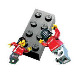 Weirdly enough, it looks like these LEGO women are Wuxai fighting.